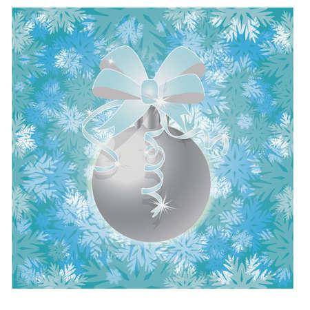 winter wallpaper: Winter New Year snow seamless wallpaper, vector illustration Illustration