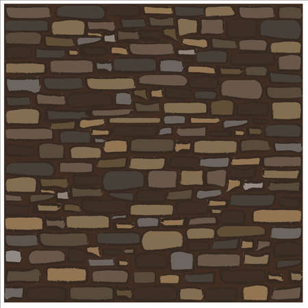 Old rock stone texture, vector illustration