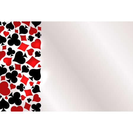 Casino Poker background, vector illustration