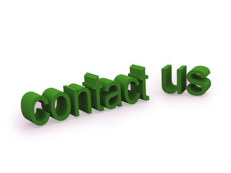 contact us text. FIND MORE in my portfolio Stock Photo - 3819290