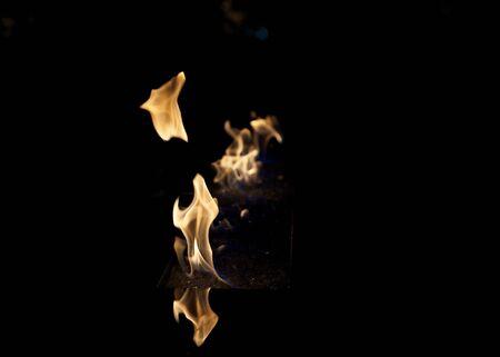 Fire Pit Banco de Imagens - 17711311