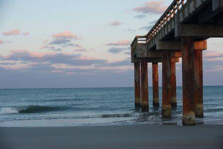 Waves at Saint Augustine Stok Fotoğraf