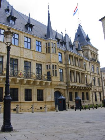 Grand Ducal Palace Luxembourg city