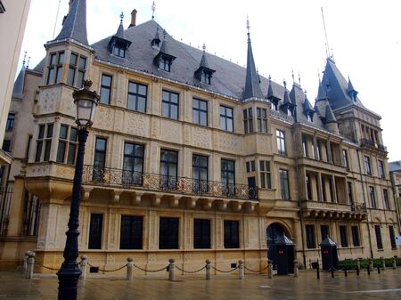 luxembourg: Grand Ducal Palace Luxembourg city