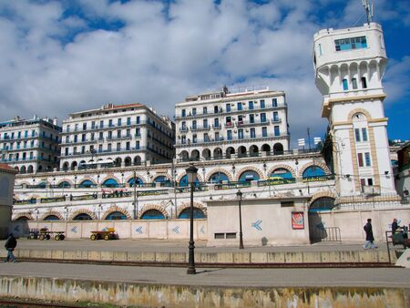 alger: Algiers capital city of Algeria country - Northern africa