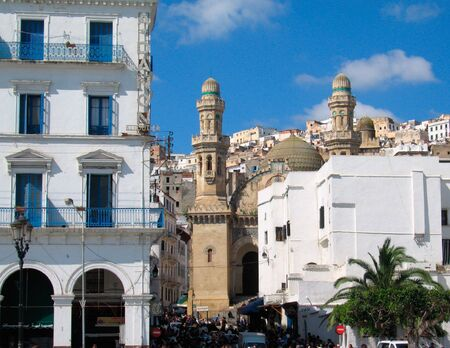 mosque at Algiers capital city of Algeria country - Northern africa photo