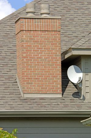 Luxury home satellite dish (12MP camera).