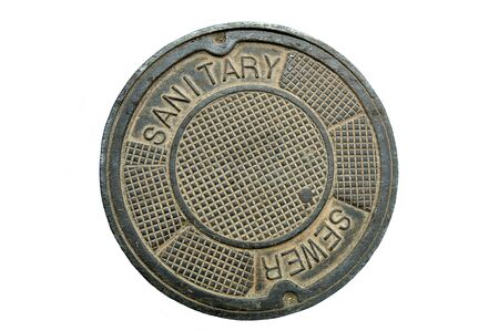 Manhole cover (12MP camera, isolated).
