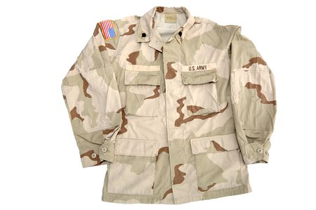 Real U.S. Army shirt. This is the camouflage pattern worn in the desert. This served in Iraq. Rank = Specialist. 12MP camera.