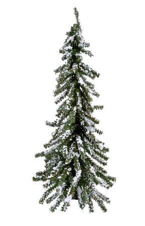 vector Christmas Tree with snow.  イラスト・ベクター素材