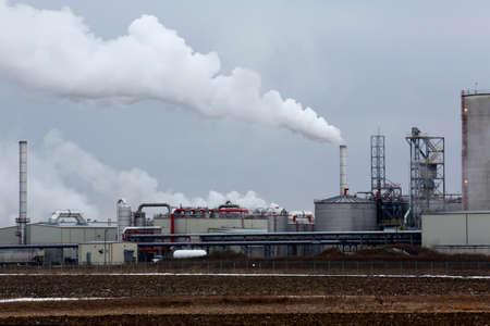 distillers: Illinois River Ethanol Production Plant in Rochelle Illinois
