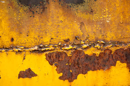 chippy: Yellow and gold background texture with brown and rust