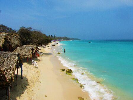 playa blanca: Playa Blanca - Colombia