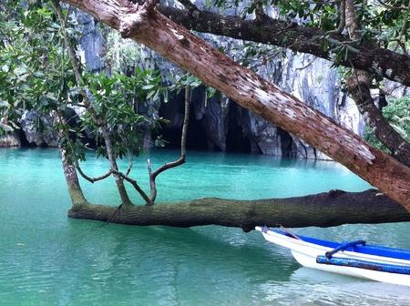 palawan: El r�o subterr�neo de Palawan, Filipinas