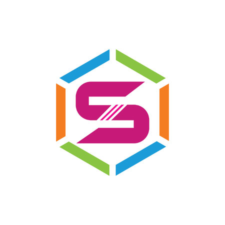 s hexagone logo