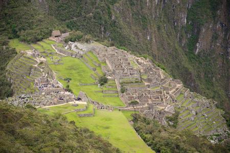 machu picchu: The incan ruins of Machu picchu, Peru Stock Photo