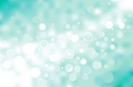 turquoise bokeh background, no transparencies were used.