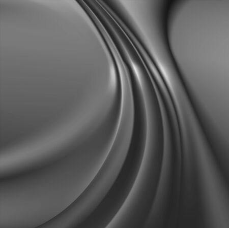 Abstract modern grayscale background Illustration