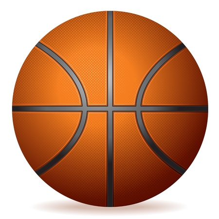 Realistic Basketball Stock Vector - 12987603