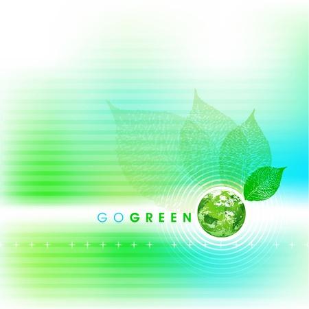 ソフトの行く緑の背景