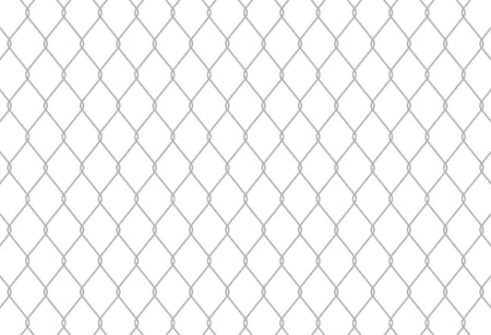Chain Link Fence Seamless Pattern can be tiled seamlessly Vector