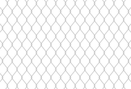 Motif de clôture de la chaîne Seamless Link peuvent être couverts de façon transparente Vecteurs