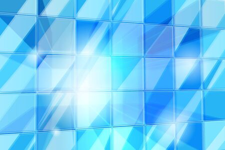 Abstract background pattern depicting a transparent cube pattern with light shining through