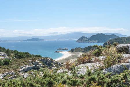 Cies Islands Vigo Pontevedra Galicia Spain