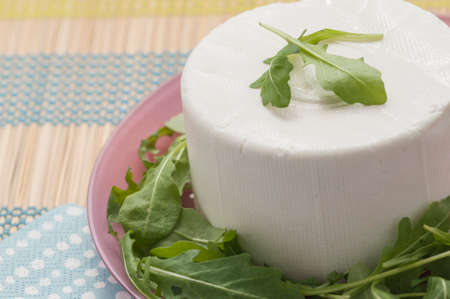 piped: Fresh cheese typical of Andalusia Spain