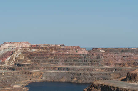 silver ingots: Riotinto mines Huelva Andalucia Spain Stock Photo