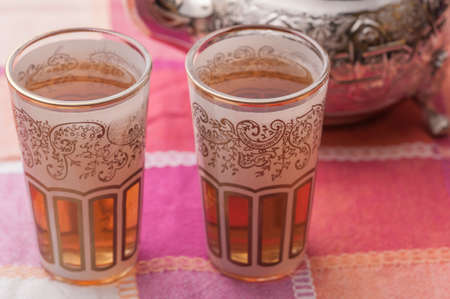 reasons: tea cups with arabes reasons