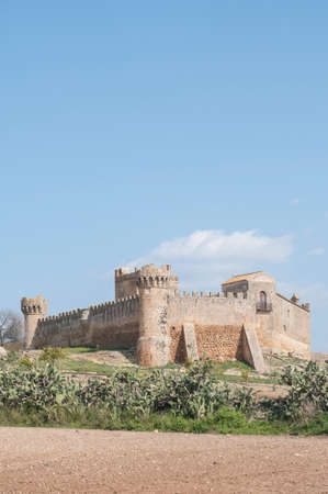 mirow: Castillo semi destroyed in Seville Andalucia Spain