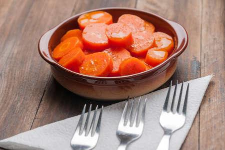 seasoned: seasoned carrots Cadiz Andalusia style