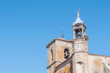 Details of the city of Trujillo Caceres Spain Stock Photo
