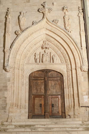 leon: Details of the city of Burgos Castile and Leon Spain