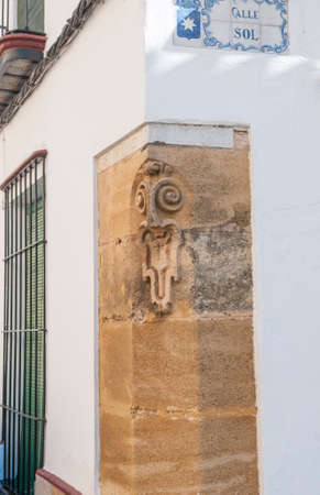 spanish landscapes: Details of the historic center of Carmona Sevilla Andalusia Spain