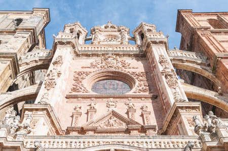 camino de santiago: Astorga Detail of the Camino de Santiago