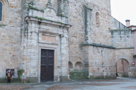 leon: Details of the city of Zamora Castilla y Leon Spain