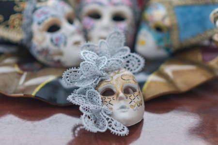 thumbnail: Set thumbnail Italian carnival masks Venice