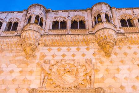 guadalajara: Details Infantado Palace Guadalajara Spain