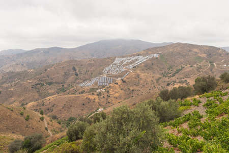 malaga: Landscapes axarquia Malaga Spain