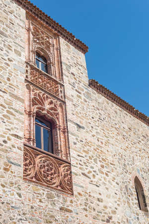 extremadura: Details Monastery of Guadalupe in Caceres Spain