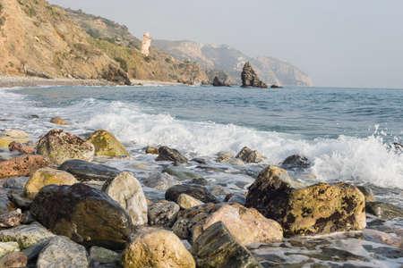 nerja: Beaches of Malaga Andalucia Spain