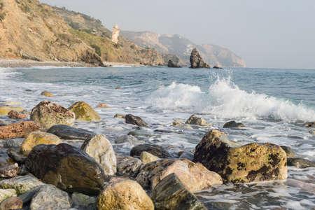 Beaches of Malaga Andalucia Spain