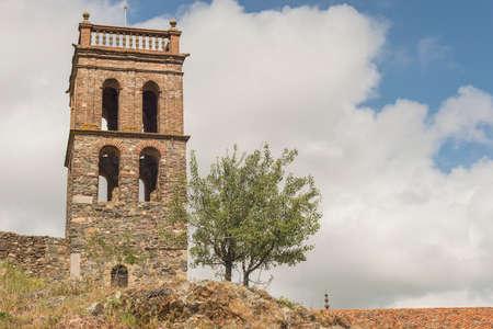 Details of the Sierra de Aracena and peaks of Aroche Huelva Andalusia Spain