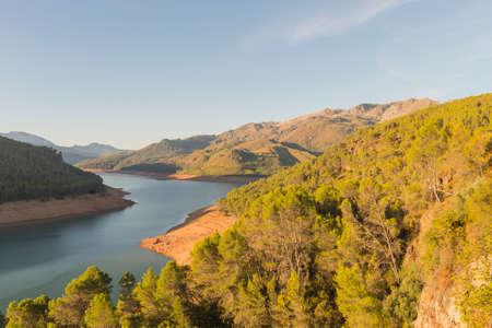 Details of the Sierra de Cazorla Segura National Park and the Villas
