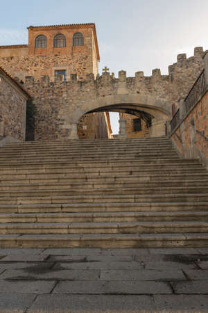 Medieval city of Caceres Extremadura Spain Banque d'images - 121681908