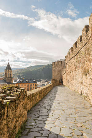 Details of Ponferrada of the province of Leon Spain
