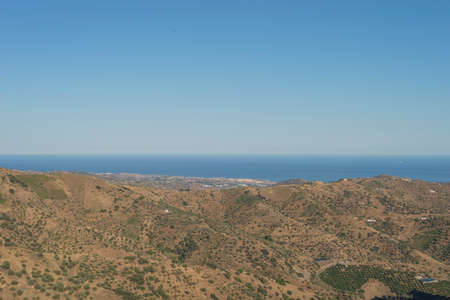 Landscapes Montes de Malaga Andalucia Spain