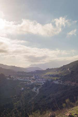 Details of Sierra de las Nieves Natural Park Malaga Andalucia Spain